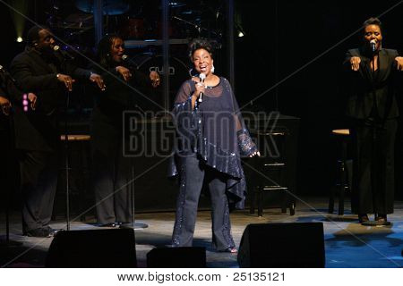NEWARK - NOVEMBER 9: Singer Gladys Knight performs for the 9th Annual Concert for Kids benefit on behalf of the Boys and Girls Club of NJ at NJPac on November 9, 2011 in Newark.
