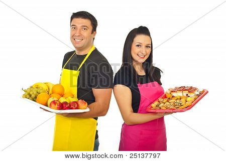 Happy Greengrocer And Confectioner