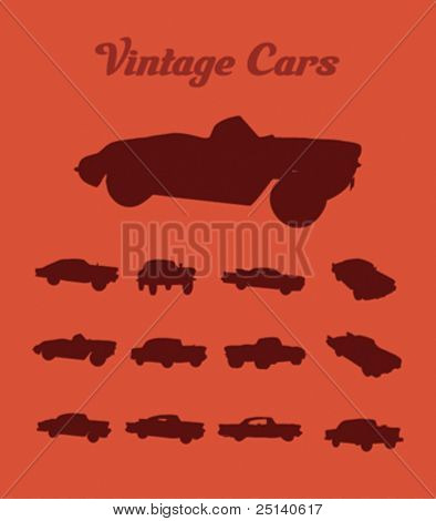 Vintage Cars Collection 1