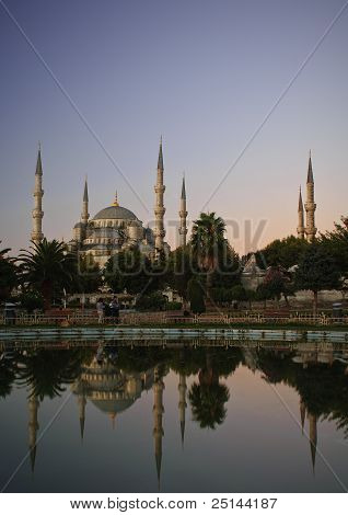 Blue Mosque Or Sultan Ahmed Mosque