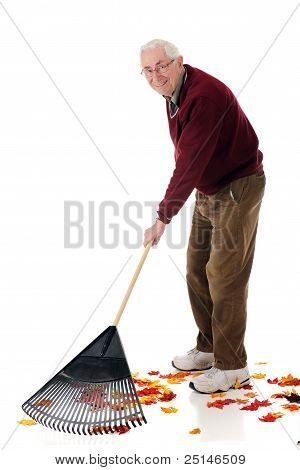 Raking Senior