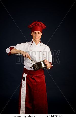 Chef Cooking