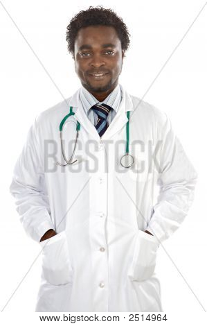 Attractive Young Doctor
