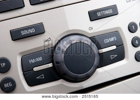 Car Audio Control System