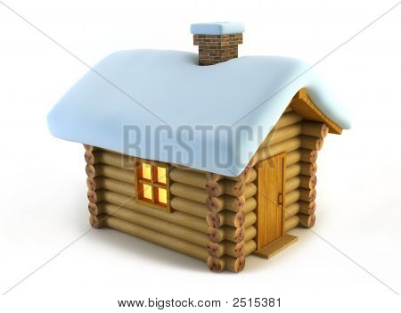 Isolated Loghouse