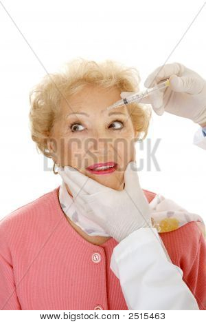 Cosmetic Injection - Frown Lines