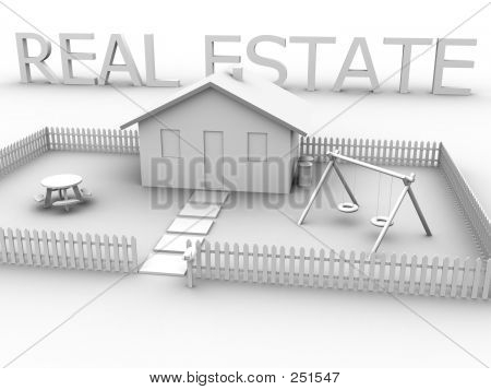 Real Estate With House