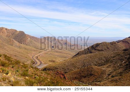 Desert Mountain View