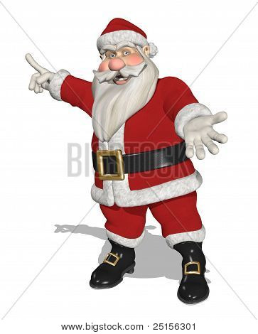Santa Invites You To Take A Look - Full Figure