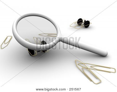 Magnifying Paperclip Autos