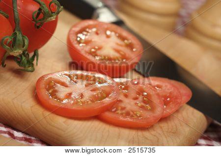 Fresh Cut Tomato