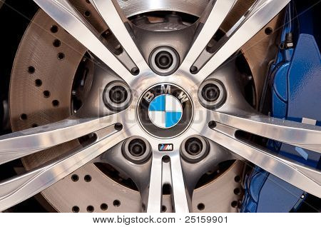 Bmw M5 Aluminium Wheel