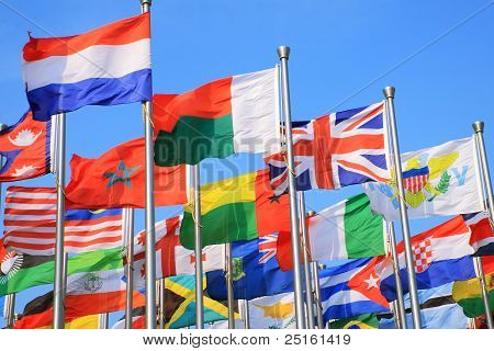 Many flags