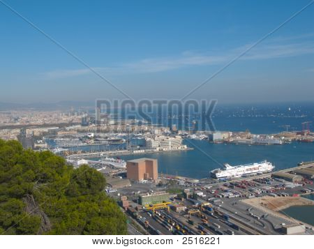 Barcelona Veiw From Castle