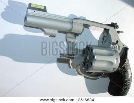 Open Revolver Cylinder