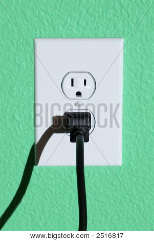 Wall Outlet And Plug