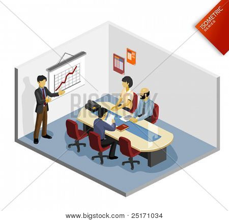Presentation Isometric Color