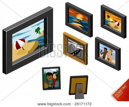 Photograph. Isometric Series. Compose Your Own World Easily with Isometric Works.