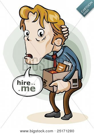Cartoon Series: Hire me