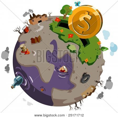 Donate to Heal the sick World. Vector Illustration