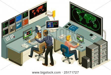 Centro de control.