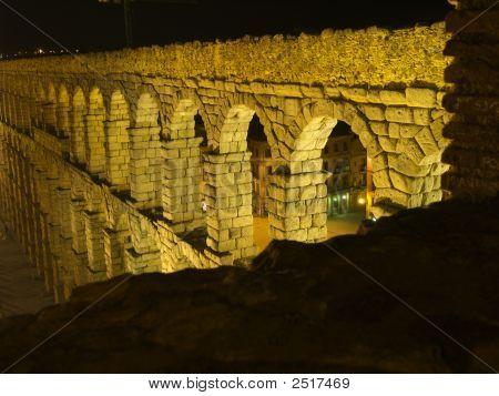 Detail Of Aquaduct At Top
