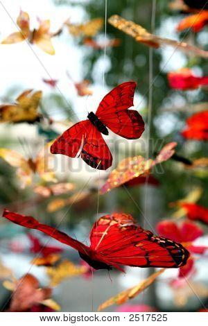 Mobile de borboleta