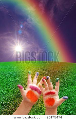 Arco iris de la niñez