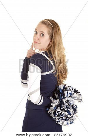 Cheerleader Back Think