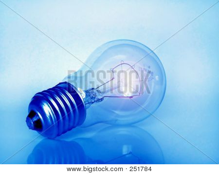 Sparkling Light Bulb