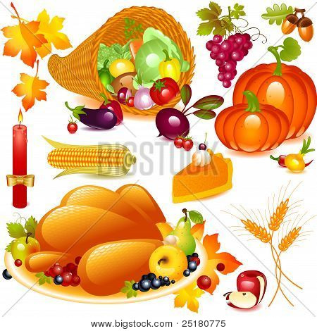 Thanksgiving set.