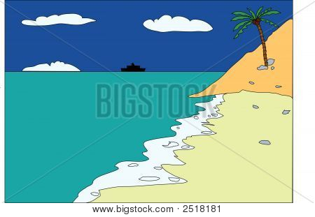 Tropical-Beach.Eps