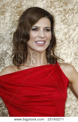 LOS ANGELES - JUNE 16: Perrey Reeves at the premiere of 'Entourage' held at Paramount Studios on June 16, 2010 in Los Angeles, California