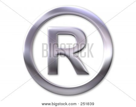 Registered Trade Mark-Symbol