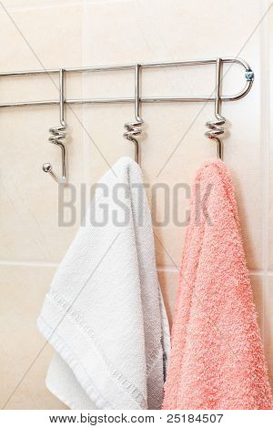 Two terry towels