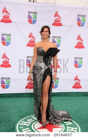 LOS ANGELES - NOV 10:  Giselle Blondet arrives at the 12th Annual Latin GRAMMY Awards at Mandalay Bay on November 10, 2011 in Las Vegas, NV