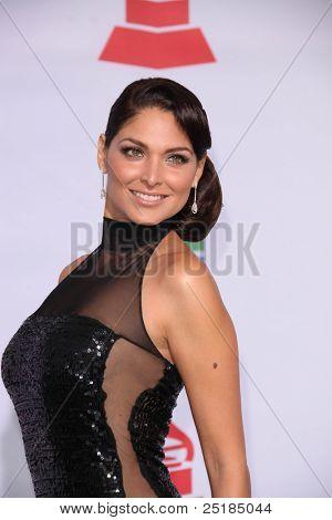 LOS ANGELES - NOV 10:  Blanca Soto arrives at the 12th Annual Latin GRAMMY Awards at Mandalay Bay on November 10, 2011 in Las Vegas, NV