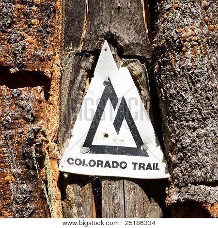 Colorado Trail marcador