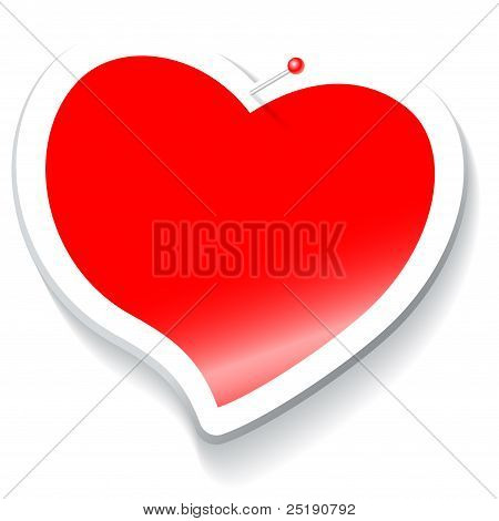 sticker heart