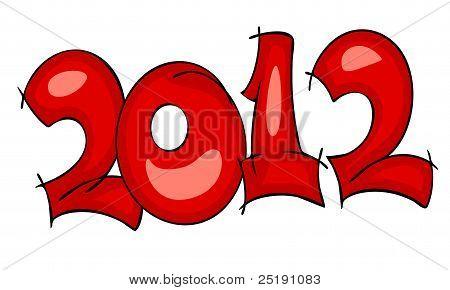 New Years border 2012