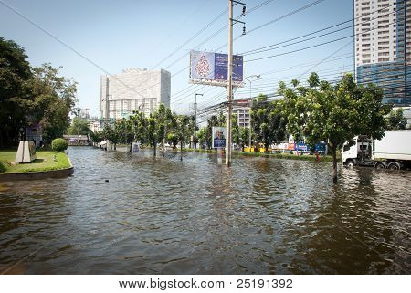 Bangkok Worst Flood In 2011