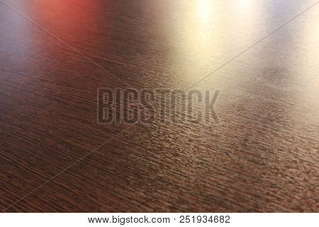 Wooden Table Abstract Background With