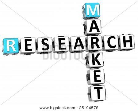 3D Research Market Crossword