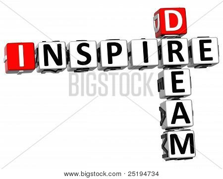 3D Dream Inspire Crossword