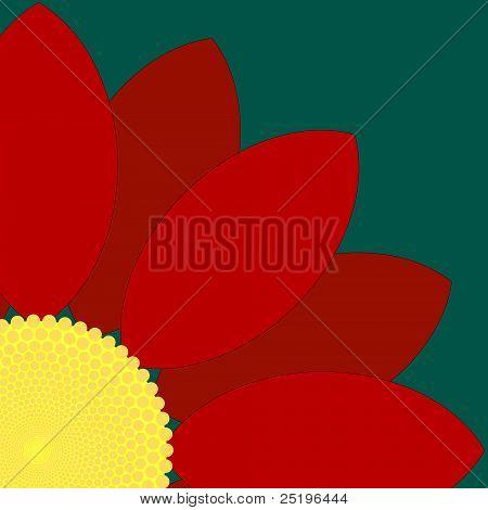 Red Flower Quarter