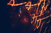 Defocused Concert Lighting. Blur Background Abstract Festival poster