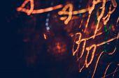 Defocused Concert Lighting. Blur Background Abstract Festival poster