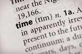 Dictionary Series - Philosophy: Time