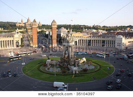 Spain Square in Barcelona