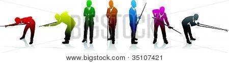 Snooker Colour Players